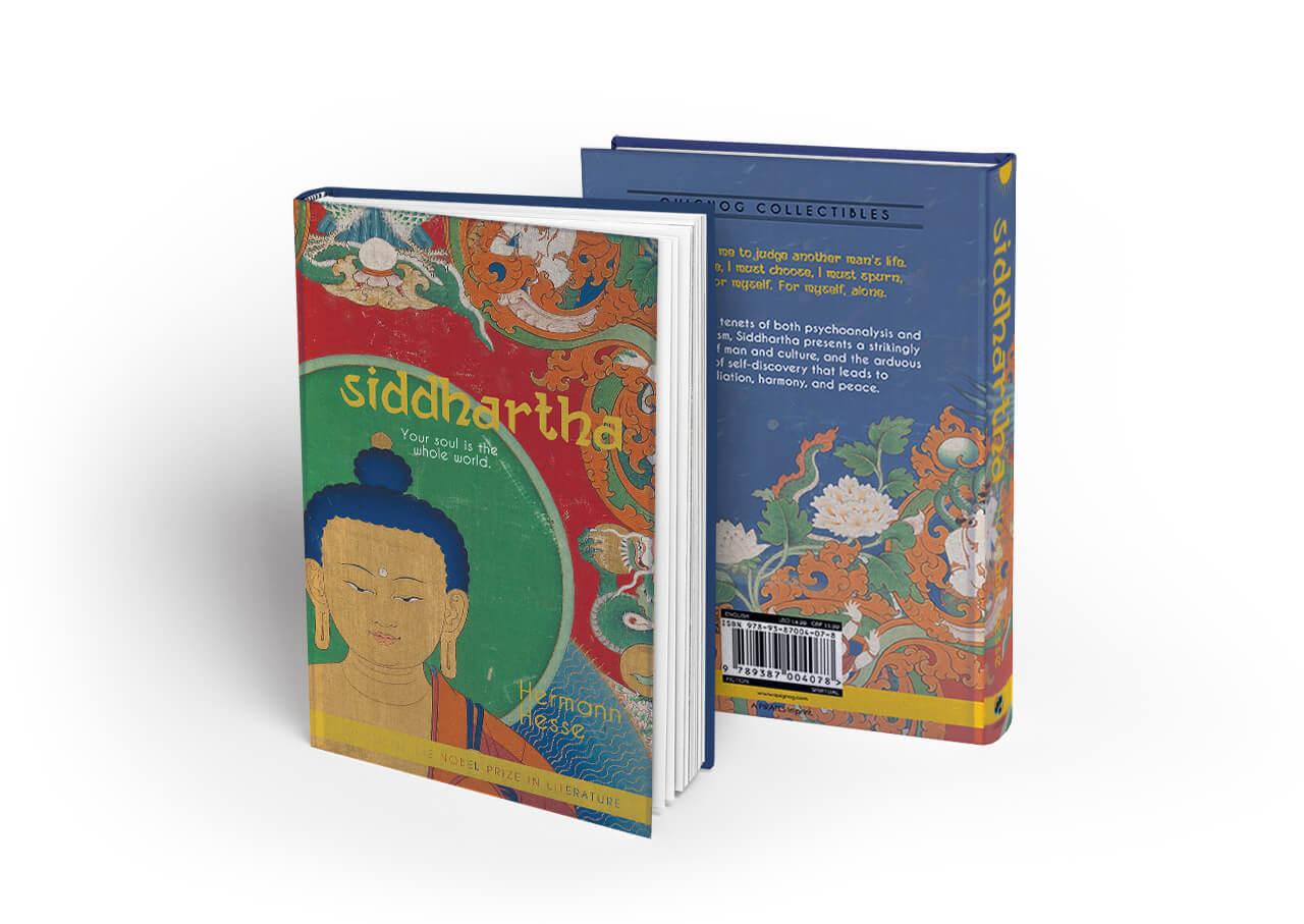 book cover- Siddhartha