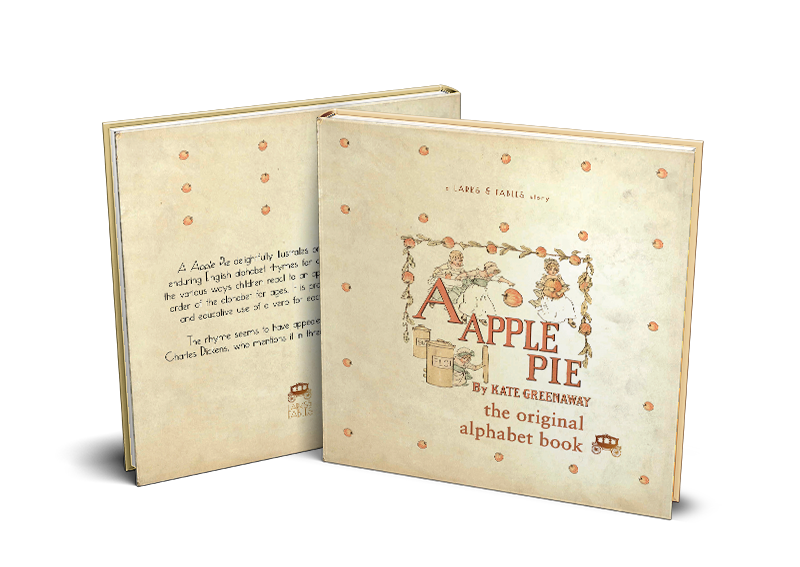 apple pie mock up