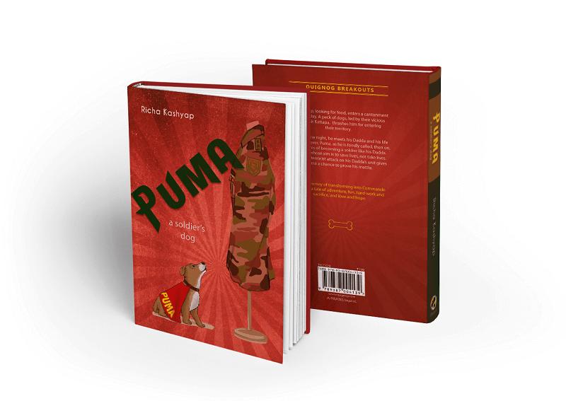 book cover- Puma