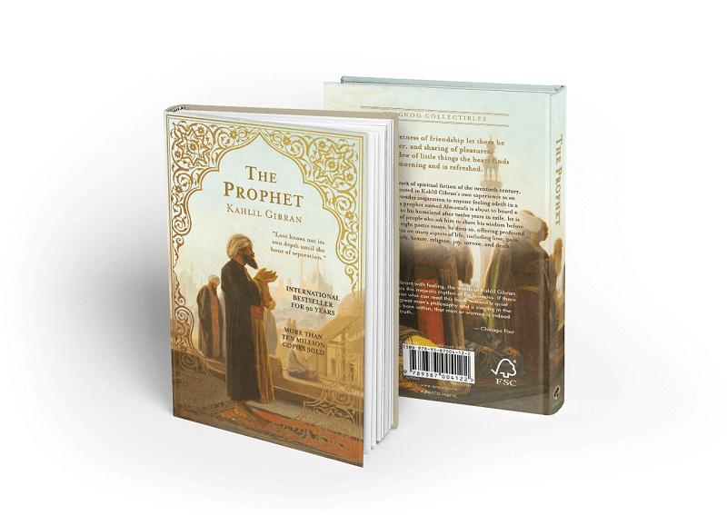 book cover-prophet