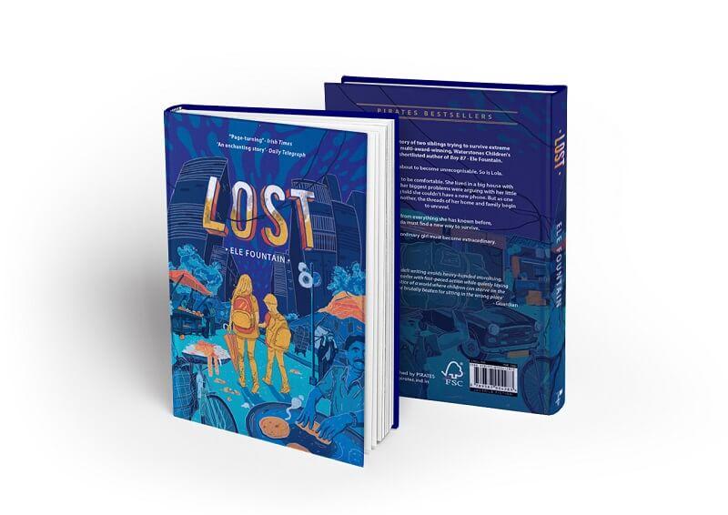 book cover-Lost
